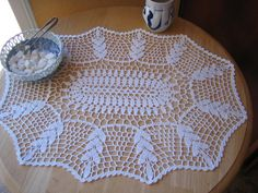 Items similar to New hand crochet fantastic Doily/Runner, Turkishteam,ready to mail on Etsy Crochet Doily Patterns, Granny Square Crochet Pattern, Crochet Doilies, Hand Crochet, Diy Bow, Diy Ribbon, Gold Decorative Pillows, Crocodile Stitch, Crochet Table Runner