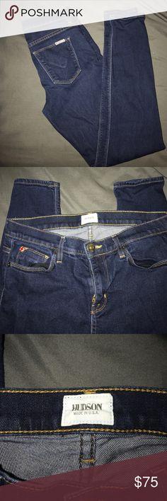 Hudson skinny jeans sz 28 Excellent condition Hudson skinny jeans. Size 28. Hudson Jeans Jeans Skinny