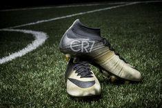 NIKE mercurial CR7 rare gold boots honor ronaldo s third ballon d or 3296fd1c45e
