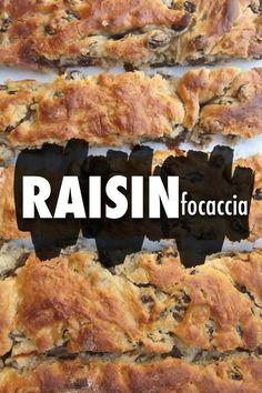 Raisin Focaccia // shutterbean
