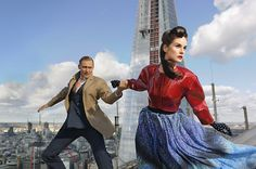 TIME Style & Design's fashion shoot with Tom Hiddleston and Michelle Dockery