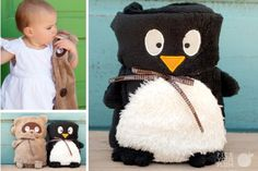 Fleece Animal Blankets! Only $8.99... SUPER cute and cuddly.