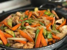 ¿Gusta Usted? : Pollo con verduras estilo chino