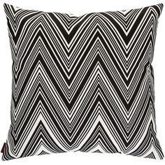 Missoni Home Kew Outdoor Cushion - 601 - 40x40cm (1 525 SEK) ❤ liked on Polyvore featuring home, outdoors, outdoor decor, pillows, outdoor garden decor, missoni home, tropical patio decor and tropical outdoor decor