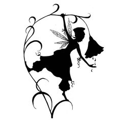 The Fleur Silhouette Lavinia cling stamp is a gorgeous fairy silhouette from the new French range. Fairy Silhouette, Silhouette Images, Silhouette Portrait, Silhouette Design, Moon Silhouette, Elfen Tattoo, Stencils, Fairy Lanterns, Fairy Jars