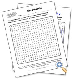 free word search editable template want to make your own word