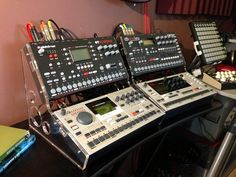 This is my corner for meditation ) [image] Two tier custom cheeks [image] Studio Equipment, Studio Gear, Meditation Images, Internet Radio, Electronic Music, Gears, Rigs, Pictures, Dj