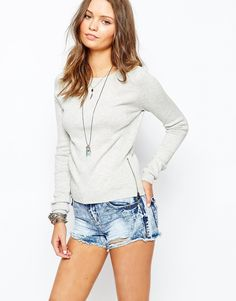 New Look Sweater with Side Zip