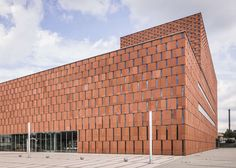 Brick-Resembling Libraries : Katowice Library by HS99