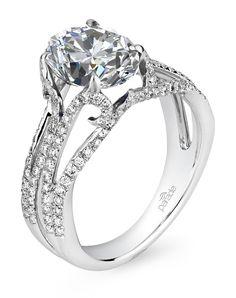 Parade Design R3022 R3022 Engagement Ring and Parade Design R3022 R3022 Wedding Ring