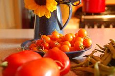 Four Green Acres: Savoring the harvest: Sungold tomato jam Sungold Tomato, Tomato Jam, Keeping Chickens, Wood Fired Pizza, Harvest, Good Food, Favorite Recipes, Canning, Vegetables