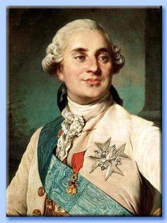 """Luigi XVI,  (*Versailles 1754 - +Parigi 1793) figlio del delfino Luigi e di Maria Giuseppina di Sassonia. Nipote di Luigi XV, fu il suo successore. Re di Francia dal 1774 al 1792; dal 1º ottobre 1791 regnò con il titolo di """"re dei Francesi"""" fino al 10 agosto 1792, giorno della sua deposizione."""