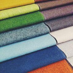 Deliberating colour swatches at HQ! #vscocam #design #interior #interiordesign #colour #fabric #instapic