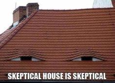 Skeptical house