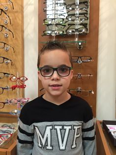 34478ef38f2 Meet 7-year-old Anthony who is rocking his I-Green children s glasses from  optiwow.com!