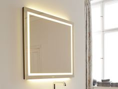 Bathroom Mirror With Light Esplanade Collection By DURAVIT Italia | Design  Sergei Tchoban
