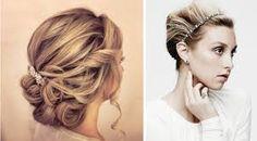 Znalezione obrazy dla zapytania fryzury upinane