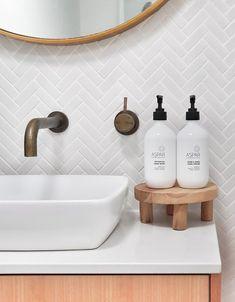 COCOON copper taps inspiration - - home - Bathroom Decor Bathroom Renos, Laundry In Bathroom, Small Bathroom, Bathroom Taps, Master Bathroom, Bathroom Ideas, Bathroom Renovations, Silver Bathroom, Industrial Bathroom Faucets