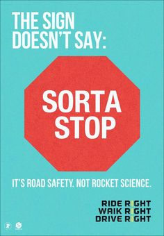 """With a small phrase """"It's road safety. Not rocket science."""", the latest road safety campaign from the city of Philadelphia is mixing humor and simple common sen"""