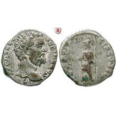 Römische Kaiserzeit, Clodius Albinus, Caesar, Denar 194, ss/s: Clodius Albinus, Caesar 193-195. Denar 18 mm 194 Rom. Kopf r. D CLOD… #coins