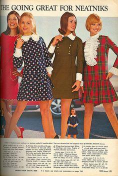 Neatnik Teens: 1969 Sears Catalog, via Flickr.