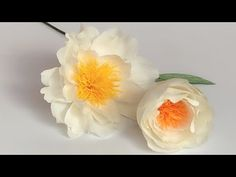 Easy steps to make lifelike paper flowers peony- cool paper crafts Paper Origami Flowers, Paper Flowers Craft, How To Make Paper Flowers, Flower Crafts, Diy Flowers, Origami Boxes, Potted Flowers, Flowering Plants, Origami Paper