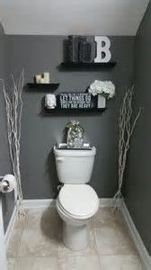 Half bathroom ideas - Want a half bathroom that will impress your guests when entertaining? Update your bathroom decor in no time with these affordable, cute half bathroom ideas. Bad Inspiration, Bathroom Inspiration, Bathroom Ideas, Budget Bathroom, Bathroom Storage, Bathroom Designs, Bathroom Vanities, Bath Ideas, Bathroom Towels