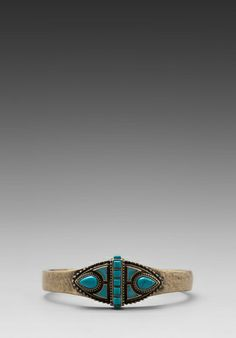 Samantha Wills Tomorrows Adventure Cuff in Turquoise