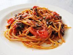 Aprenda a fazer o Spaghetti Alla Puttanesca