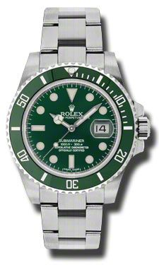 The Rolex Green Submariner with Stainless Steel Case #Submariner #Greenbezel #Rolex #StainlessSteelWatch #thewatchmen #watchmenwatches