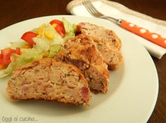 Ricetta Polpettone patate e menta |Oggi si cucina