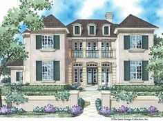 Eplans French Country House Plan - The French Manor - 3578 Square Feet and 5 Bedrooms(s) from Eplans - House Plan Code HWEPL13917