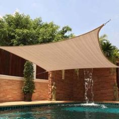 Economy Shade Sails Sun Sail Easy on the Budget Yard