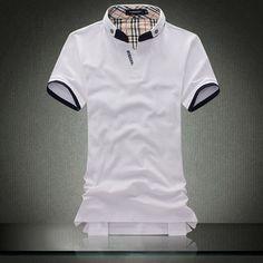 cheap discount Burberry Men Short Sleeve Polos SUBURSPOM131 [$16.00]