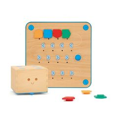 Cubetto playset coding toy is added to LurnBot robot kit rental list! #cubetto #robot_kit #robot #programming #coding #robotrent #rentrobot