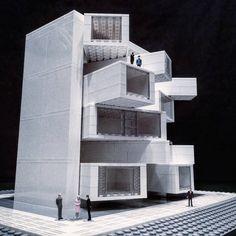 LEGO Brutalist Buildings Sculptures – Fubiz Media