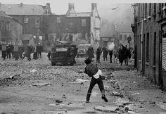 Northern Ireland- 'The Battle of Bogside' 1972