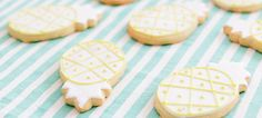 These Adorable Pineapple Sugar Cookies Are Our New Obsession #refinery29  http://www.refinery29.com/lauren-conrad-pineapple-sugar-cookies
