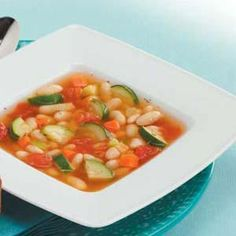 Vegetarian White Bean Soup  This is real good