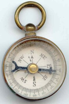 Compass. Going to get a compass tattoo one day. Right on my forehead