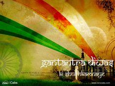 #Happy #Republic #Day #India #zerocabs #one #way #taxi visit --> www.zerocabs.com