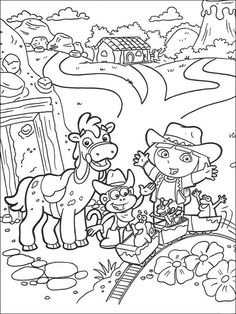 Printable Jigsaw Puzzles To Cut Out For Kids Dora The Explorer 112 Find This Pin And More On Coloring Pages