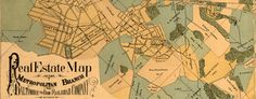 #Map of the BO #Railroad Between# DC and #Rockville (1890)