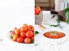 Zutaten für die Herstellung Tomatensauce