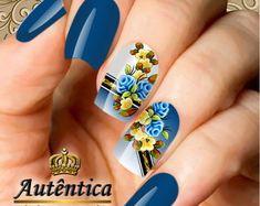 Adesivo de Unha Manicure, Nails, Nail Designs, Nail Art, Creative, Beauty, Enamels, Solid Colors, Light Colors