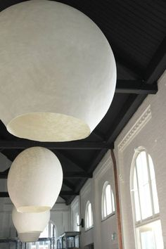 Soft lighting made by crisp white Moroccan Lanterns. Tazi Designs offers custom handmade lanterns available at our Cool Lighting, Modern Lighting, Lighting Design, Pendant Lighting, Ceramic Light, Creation Deco, Ceiling Lamp, Ceiling Lighting, Lampshades