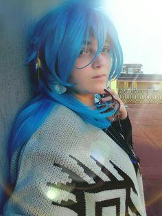 Aoba in love with Mink ♡ #cosplay #Aoba #Aobaseragaki #dmmd #yaoi