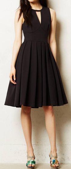 Perfect little black dress #lbd