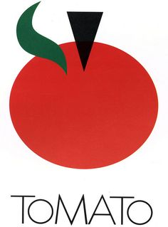 tomato records logo, 1978 • milton glaser. Love Milton Glaser's work.