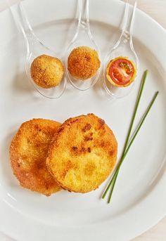 """Receta 414: Rodajas de tomate empanadas y fritas - Simone Ortega, """"1080 recetas de cocina"""" - 1080 Fotos de cocina"""